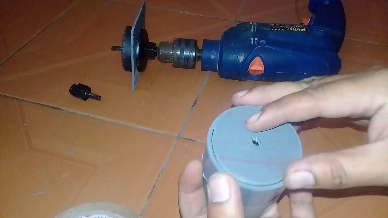 Cara membuat bantalan klep pompa hidram(rump pump) 2 inchi ...