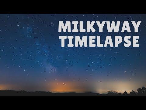 Timelapse Milkyway Hegau, Germany