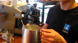 Rospresso - how to heat up milk!