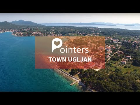 Town Ugljan — Island Ugljan | DRONE FOOTAGE | Pointers Travel