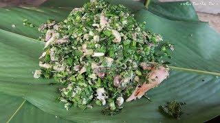CÁY PHO | (gà gói lá nướng) Món Ăn Ẩm Thực Của Dân Tộc ✦ Hoa Ban Tây Bắc