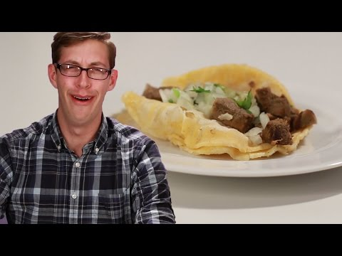 Americans Try REAL Street Tacos