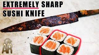 Sushi knife restoration - Extremely Sharp