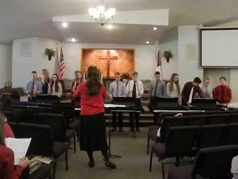 Battle Hymn of the Republic Handchimes Wilton Baptist Academy