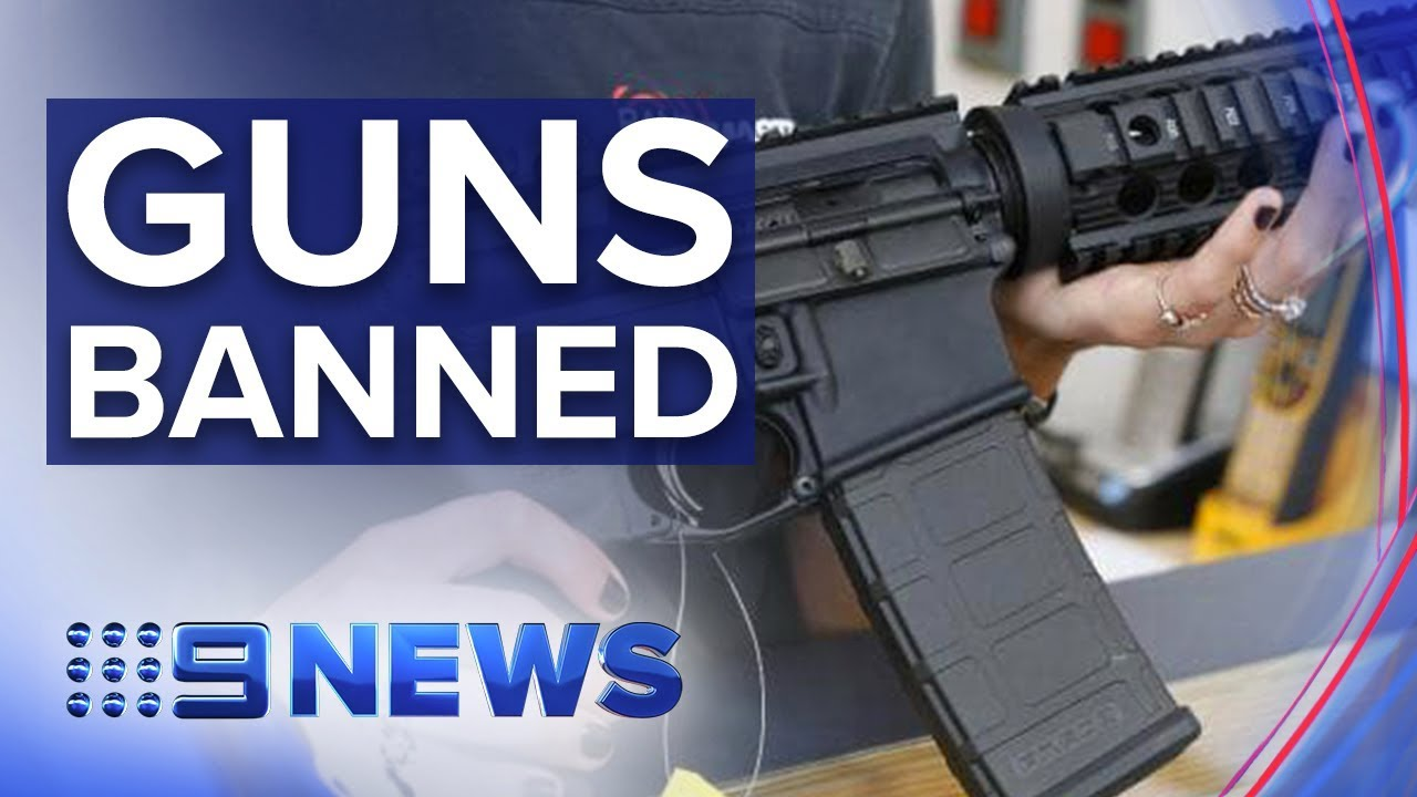 NZ moves to outlaw all semi-automatic rifles | Nine News Australia