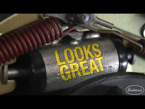 Brake Gray Aerosol - Heavy Duty Coating That Resists DOT 3 Brake Fluid - Eastwood