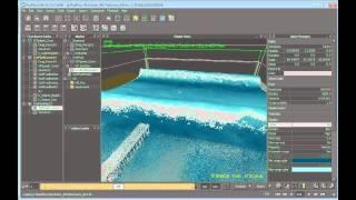 إنشاء نطاق واسع محاكاة المياه في RealFlow (8 من 9)