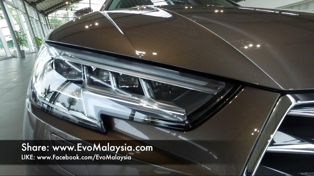2017 Audi A4 B9 20 Tfsi Tech Pack Virtual Cockpit Matrix Led