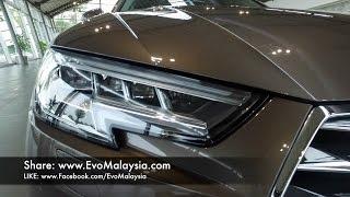 Video 2017 Audi A4 B9 2.0 TFSi Tech Pack (Virtual Cockpit & Matrix LED) Inside Out by Evo Malaysia download MP3, 3GP, MP4, WEBM, AVI, FLV November 2018