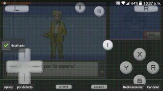 Configuración de pantallas y controles de Pokemon para Emulador Drastic