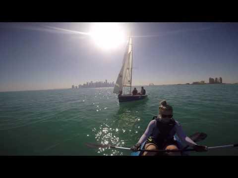 Sailing in Qatar