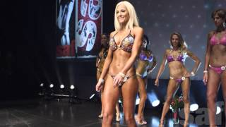Open & Pro Bikini Model at the 2015 SAF Summer Spectacular