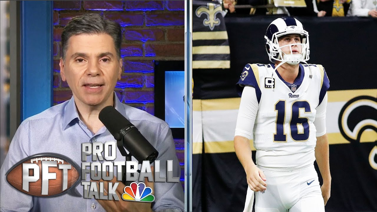 Los Angeles Rams may opt to not pay Jared Goff franchise QB money | Pro Football Talk | NBC Sports