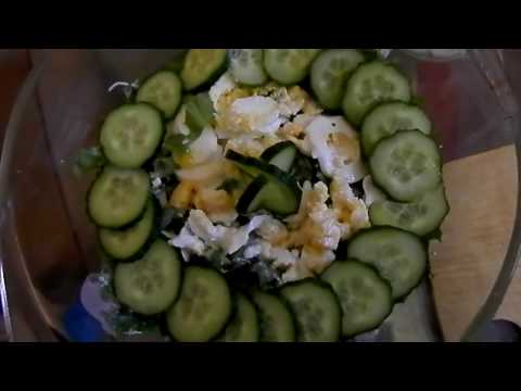 Соус для салата зеленого
