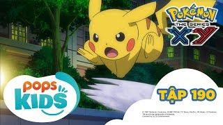 Pokémon Tập 190 - Trận đấu trên băng! Pikachu đấu với Viviyon - Hoạt Hình Tiếng Việt Pokémon S17 XY