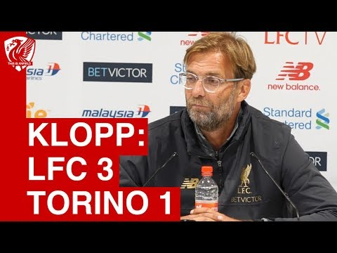 Liverpool 3-1 Torino | Jurgen Klopp Post Match Press Conference