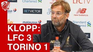 Liverpool 3-1 Torino | Jurgen Klopp Post Match Press Conference