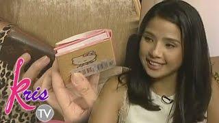 Ang isang bagay sa loob ng bag ni Maxene that reminds her of her dad, Francis M.
