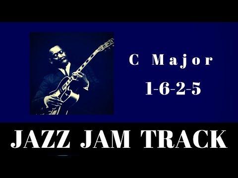 C Major Jazz Backing Track   Easy 1-6-2-5 Jam