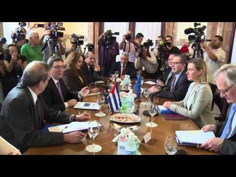 HRVP in Cuba - Political Dialogue with Cuban FM Bruno RODRIGUEZ PARRILLA