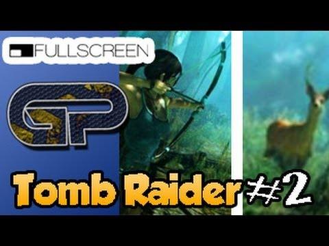 Tomb Raider #2 - Achando o Arco, passando a noite e caçando com Lara Croft.