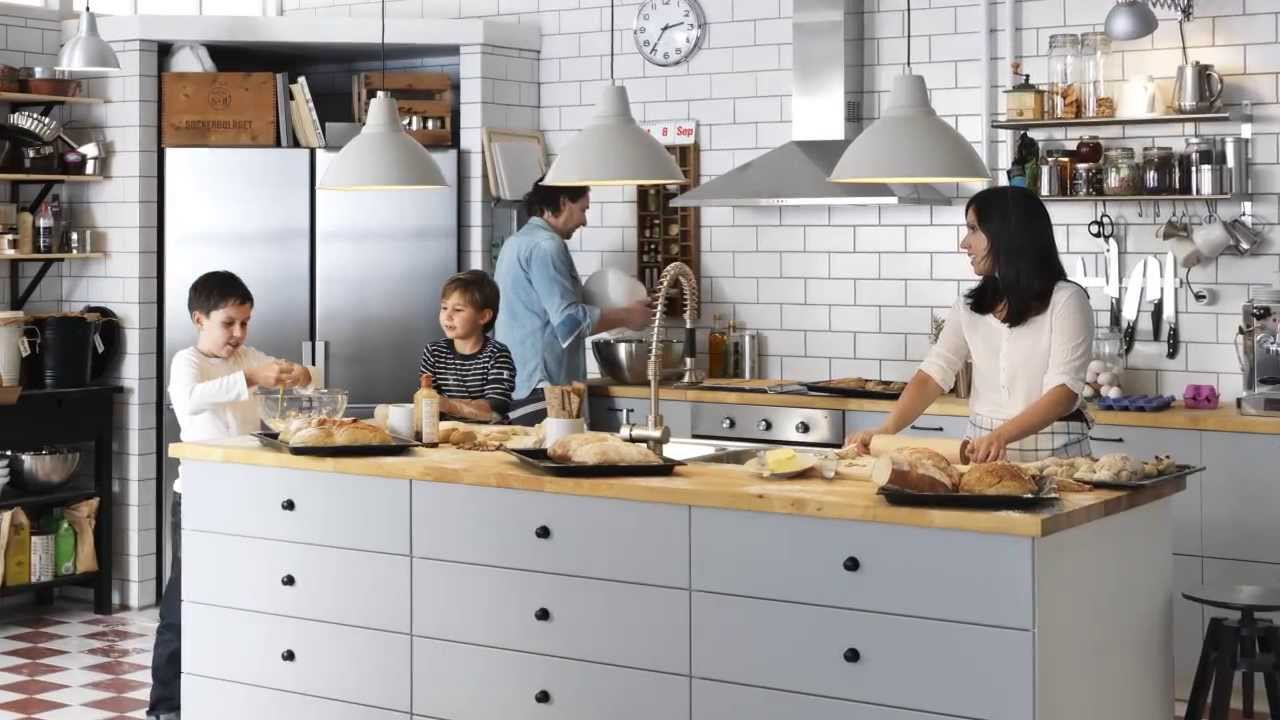 Ikea Kitchen how to plan your ikea kitchen lighting — video - youtube