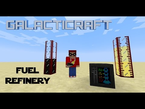 Minecraft - Mod Tutorial Galacticraft - Fuel Refinery