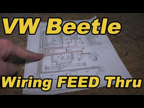 Classic VW BuGs How to Feed New Wiring Harness through a Beetle - YouTubeYouTube