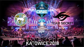 [🔴 DOTA 2 LIVE]- TEAM SECRET VS PLANET DOG - ESL One Genting 2018