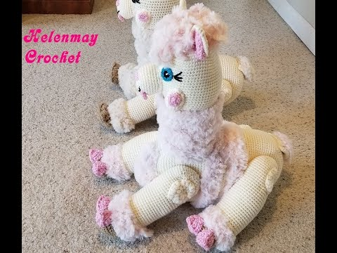 Alpaca Amigurumi Free Crochet Pattern   360x480