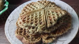 Вафли из льняной муки - кето. Рецепт вафель из льняной муки.