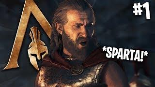 TO JEST SPARTA! POCZĄTEK PIĘKNEJ PRZYGODY! | Assassin's Creed Odyssey #1