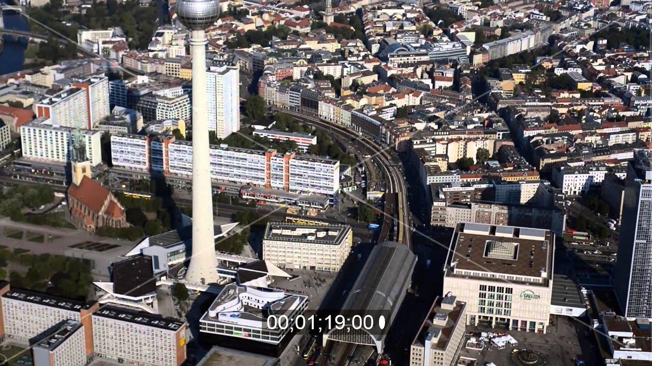 Baustelle Zum Neubau Des Wohnquartier Am Alexanderplatz In