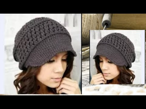кепка крючком разбор узора Crochet Cap Analysis Of The Pattern
