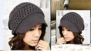 КЕПКА КРЮЧКОМ. РАЗБОР УЗОРА || Crochet. CAP. ANALYSIS OF THE PATTERN.