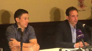 Tom Loeffler discusses Gennady Golovkin fighting on May 5