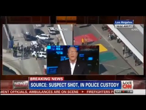 CNN News: Shooting At Los Angeles Airport (Full)
