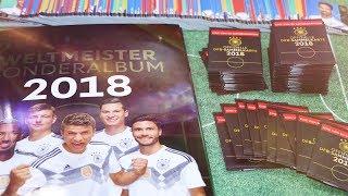 100 REWE KARTEN auspacken WM 2018 + RIESEN MUPPENUPDATE