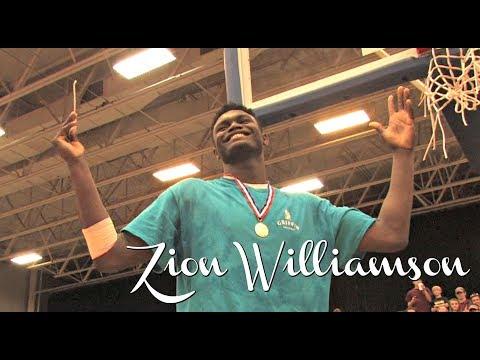WHERE Will Zion Williamson Go To College?? Decision Coming Soon (1/20/18) 2018