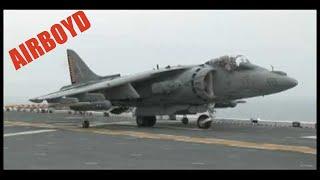 AV-8B Harrier II's Landing And Takeoff USS Kearsarge (LHD 3)