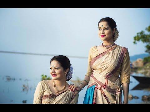 """NAMAMI BRAHMAPUTRA"" | PAPON | Dance Cover| Tanvi&Kankana |"