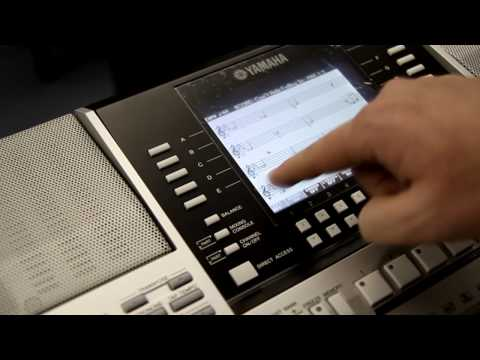Yamaha PSR-s910 Keyboard Demo