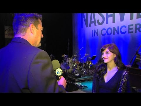 "Aubrey Peeples talks about her role in ABC's ""Nashville"