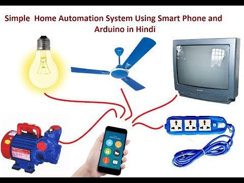 Smartphone and Voice Controlled Home Automation in Hindi