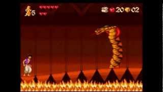 Aladdin 1994    SNES   Snake Jaffar Boss