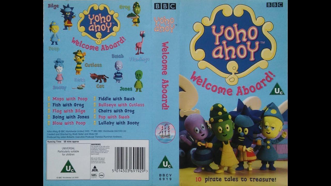 Yoho Ahoy - Welcome Aboard   Vhs   2000