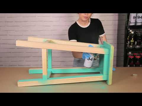 כיצד להסיר את הצבע הישן מעץ בעזרת ספריי מסיר צבע של MTN PRO