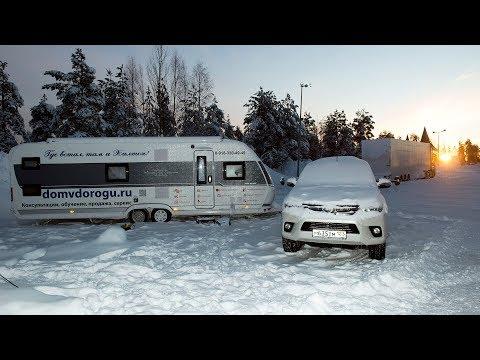 Путешествие с Домом на колесах зимой Подробный обзор зимних доп опций, принадлежностей и аксессуаров