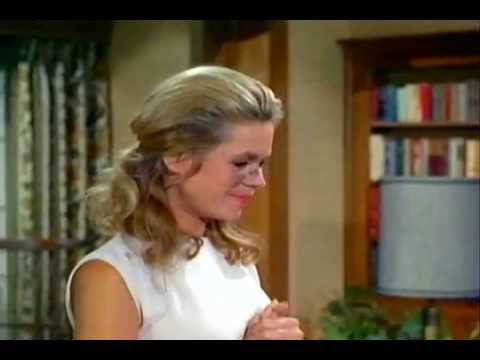 Bewitched Time Lapse Clip: Samantha Cleaning the House # 2