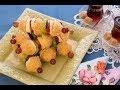 الحلويات مع عبير - الحلويات مع عبير - بيتزا الكنافة بالشوكولاتة والفاكهة وشيش كباب